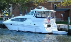 PRICE REDUCTION!!!!!This 41 foot 2008 Sea Ray 40 Motor Yacht is located in Dighton, Massachusetts and is available for immediate sale. Search the market, and you will not find a younger, better maintained Sea Ray 40 MY out there. And this boat is fully