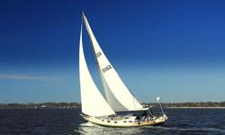 Delaune Yacht Brokerage.com Has a 1964 Pearson Rhodes 41 for Sale. Upgrades include