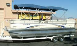 """www.gotwaterrentals.com/Consignment_2006_Avalon_L_Elite_Pontoon.htmlThe Name """"Avalon"""" means """"It's the BEST""""!As you can see, this Paradise Elite L is a """"top-of-the-line"""" model. Very gently used, always garage stored. Includes the patented Avalon HPPtm"""
