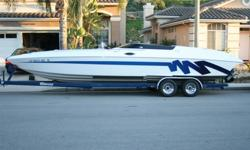 28? Eliminator Eagle 280 XP Mid-Cabin/Open-Bow. You?d never know it?s a 1996! This is the same hull Eliminator is using today. It?s design is so perfect they haven?t changed it in over 15 years. Beautifully Maintained, Restored, and Upgraded. Superior