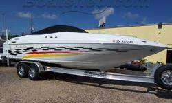 This boat just looks fast sitting at the dock, but when you turn on the power she just flat flys across the water The name Z270 promises top performance and the boat delivers exactly that. At top speed, this boat exceeds 50 mph and cruises easily at 40