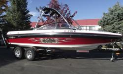 HURRY! This boat won?t last. Don?t be the one that says they missed it by that much. This sought after 2004 Malibu Wakesetter VLX is in great condition. It only has 414 hours on the Indmar Monsoon motor. It is equipped with all the goodies. Large tower