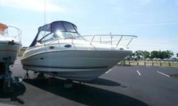 2006 Sea Ray 240 SUNDANCER For more information please call