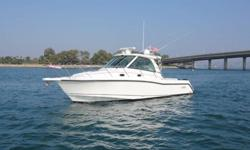 Boston Whaler 345 Conquest is Loaded and in Pristine Condition! Powered by triple Mercury 250 Verado 4-stroke engines with only 380 original hours. Loaded with almost every Factory Option including Bow Thruster, Diesel Generator, Electronics Package