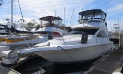 1989 Sea Ray 340 Sedan Bridge for sale in San Diego. View More Details and Photos at: www.BallastPointYachts.comFormerly a ?Fresh Water? boat for many years. Powered by twin Mercrusier 7.4L Blue Water Inboard motors with only 967 original hours. Extensive