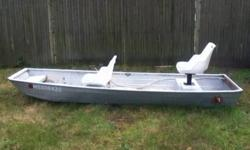 12' JON BOAT NO LEAKS $350.00 OR BEST OFFER