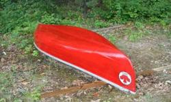 14' Great Canadian Canoe. Freshly painted and repaired. Ready for water with 2 paddles included. Wide beam and steady.