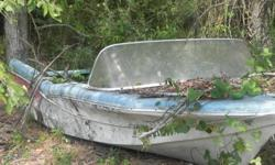 great project boat -Glastron Fireflight 1958 -- hull is in great shape