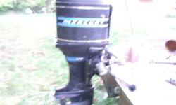 I have an older Mercury 115 horse outboard engine and the power trim unit. I put a newer starter and the motor does turn over but DOES NOT run. It isn't froze up. The power trim makes noise but it doesn't lift or lower. The fluid level is low on it so
