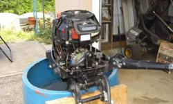 Mercury 110 outboard, 9.9 HORSEPOWER two stroke ,runs well ,very little use ,comes with fuel tank $350 503-630-6208Listing originally posted at http