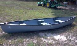 Old Town 3 seat canoe, rockport model. Excellent shape.