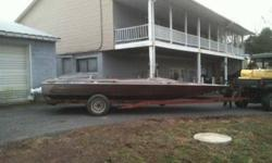 Sleek craft jet boat hull and trailer has Berkeley e pump and 2 allum fuel tanks. I have some seat bases and cushions from another boat ill throw in boat has tittle but trailer does not call or text Cory at 717-497-7448Listing originally posted at http