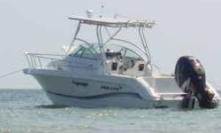 This well maintained and clean vessel is great for bluewater fishing, trip to rigs...great for family trips...island runs and overnighters, etc. Original OwnersBoat currently resides in Gulfport, MsContact or text