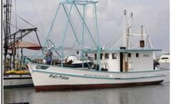50 FT FISHING BOAT, LUGGER. SHRIMP, OYSTER,CRAB, SET READY TO GO DON'T MISS THIS MUST SALE DEAL STATE OF THE ART RADAR ALL EXTRAS. CALL LESLIE HOOD 228-216-5710 35000 OBO