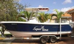 2007 Pro Line Sport. Cared for by a meticulous original owner. Less than 200 hours on Honda 200 with warranty remaining, Trailer is like new, Garmin GPS, VHF, Stereo, Hard Top, Duel Battery. This has been a great Family boat! The upkeep and care shows