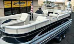 2012 Avalon - The Catalina Cruise 24' -The Catalina - A great way to start boating with high quality and less investment, the Avalon Catalina won?t disappoint. Catalina is built with the same quality that goes into every Avalon. Solid structure, plush