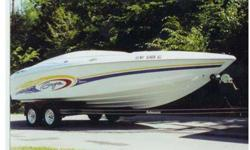 2002 Baja H2X, 24' HIGH PERFORMANCE-2002 Baja H2X, 24' If Poker Runs are in your dreams you can now make those dreams come true. Here is your chance to own this 1 owner, Freshwater only, FAST, high performance boat. This boat is equipped with a 6.8 Liter,