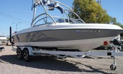 2005 Tige 22V Limited Only $36,500 Trades Welcome! Financing Available O.A.C.! ** GM Vortec 5.7L MPI 340hp ( Only 140 Hours ) ** V-Drive ** Built in Ballast System ** Perfect Pass Wakeboard Pro ** Stereo Upgrade with Amplifier and Subwoofer ** Tower