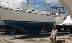 This 36 foot, 1977 Pearson 365 is located in Danvers, Massachusetts and is available for viewing by appointment only.SUSAN CELESTE is a very well maintained version of this popular cruising sailboat. The 365 features a shoal draft keel and skeg hung