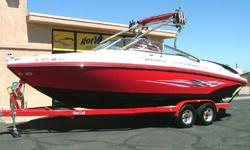 """This is a beautiful full-size V-Hull (Open) Bow Rider that gives you the best of everything! This is the boat that was NADAguides.com """"Top boat pick for the Summer Season"""". Value, stying and performance best describes it!¨ Length"""