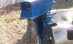boat ,5hp evinrude and trailor the motor needs some work. the boat is a sears 1970.I have title for both trailor and boat.it has anchors front and back. With the pulleys located in the back. if interested call 479-267-3178Listing originally posted at http