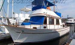 This 1977 Chung Hwa Trawler is a real jewel. This boat is ready for any kind of exursion,long or short. Beautiful cabin and helm areas spotlight this classic vessel. You cant help but enjoy and imagine the outstanding experiences that are available with