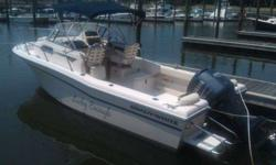2005 Grady-White 226 SEAFARER Only 110 hours on this lightly used 2005 Grady White 226 Wayfarer. This boat is in like new condition and comes with a trailer. All upholstery and canvas like new (4 sided enclosure). Hurry...this one will not last! For more