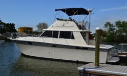 There are less expensive ones available but you will have to invest $60-$80 thousand dollars and 2 - 3 months on the hard to equal this boat!VERY EXCEPTIONAL - 1988 Silverton 37' ConvertibleAre looking for a very comfortable cruiser or a fishing boat and