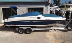 2007 Sea Ray 240 SUNDECK Full service records available - manifolds and risors replaced Sept 2011. Trailer not included. The 2007 240 Sundeck is SeaRay's most popular day boat. It provides unparalleled comfort and ride. This boat outrides most larger