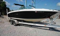 2006 Sea Ray 220 SELECT This is the classic look for Sea Ray! This 2006 220 SEL provides a fantastic ride and has been freshly detailed and looks fantastic! The boat is turn key and has just had a full service and includes a complete coast guard kit, a
