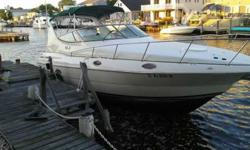Stern Drive - New fuel pumps, throttle cables and throttle shifter worth over 2K. Recently changed Manifolds Risers, multiple add ons and was just tuned up at the end of the season. Comes with 5.0 Kohler generator that powers the entire boat and is also