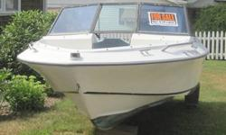 Sportcraft 1987 sixteen foot bowrider. This excellent condition boat spent most of its life inside. You can find this same year boat with trailer and motor on line for upwards of $4,000 dollars or you can spend $20,000 on a new one or you can put it