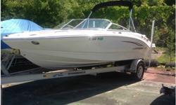 2011 Chaparral 206 THIS IS ONE AWESOME BOAT with only 35 hours on a Volvo Penta 5.0! NADA Suggested List Price $50,000 w/o trailer. NADA Trailer price - $2,700. This is a $52,000 package deal. I have to let this one go due to a Military Move to Virginia