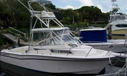 1998 Grady-White 300 MARLIN Opportunity awaits your quick action. Fantastic fishing platform & large cockpit. Nicely equipped, mechanically sound and lowest priced. ONE OWNER BOAT! For more information please call