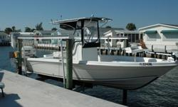 Well Equipped Bay Fish Boat With Single Envinrude 250hp Two Stroke Outboard Motors, Garmin Electronics, T-Top, Lots of Storage And A 2007 Float On Trailer. Also Has A Minn Kota Rip Tide Trolling Motor. Beam