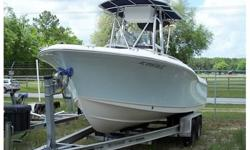 23' Sea Hunt with T-top, Leaning Post, Live well, Trailer, F250 Yamaha low hours, Never Fisher, Great Condition!!