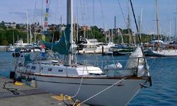 Special boat! S/V Plain Jane has a fabulous brand new 4-cyl Yanmar engine and transmission, very nice new Blue Sea custom electrical panel, recently replaced chain plates, and even a monitor wind-vane. If you are looking for a great offshore boat that can