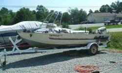 We have a 1985 Bass Tracker with a 50hp Johnson motor for sale it also has a Minn Kota 565 turbo trolling motor,live well...for more information call #270.343.4829