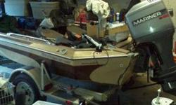 I have a 1986 Skeeter bass boat 16 ft in length. New batteries , new trolling engine, new tires. It has a 1996 115 horsepower Mariner outboard with trailer. Call or text (606)344-9628 before 8