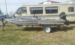 Boat, motor and trailer are all 1994 -- $3000.00 Listing for my dad and know nothing about the 3 to answer any questions. Call 417-469-3416 -- ask for Bill. Located north of Pomona