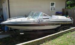 1984 16' Fabuglas ski boat with trailer, nearly completely rebuilt, lots of new. Mercruiser 3.0 140 hp engine (re-manufactured in 2007- low hours!) Includes