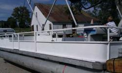 1972 Sanpan Pontoon 30 ft long, capicity is 16 Contact Laymon Shaw or (click to respond) asking $3000.00 OBO.Listing originally posted at http