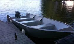 V-1420hp Mercury with 50 hours on it, comes with a dual axle aluminium traler with new tires and lamps, boat and outboard are two seasons old, Original owner, The whole setup is very light and can be pulled with a small car like an Outback wagon, $3000