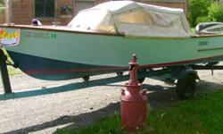 SELLING A GREAT RARE CLASSIC A 1960 BRISTOL 16FT WOODEN BOAT. THIS WAS CONSTRUCTED /MANUFACTURED BY THE QUIMBY VENEER CO BINGHAM, MAINE. THE BOAT IS GREAT SHAPE , VERY CLEAN, RUNS PERFECT , CRUISES VERY NICE. TRAILER IS ALSO IN GREAT SHAPE. THE BOAT IS