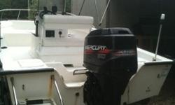 2000 Key Largo center consol with 90 hp Merc, depth/ fish finder , gps , live well , dry storage , two batteries, top and it all works. boat has no soft spots and runs good, trailer is in good shape as well. it gets started at least twice a month and I