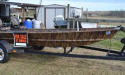 2004 14 ft Weldcraft camo duck boat with 25hp Johnson motor..2 camo seats...3 storage compartments....set up for duck hunting and/or fishing.....terrific condition....call or text 318-245-4089 for more details ...located in Choudrant, LA...$3200Listing