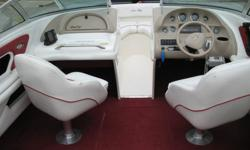 1997 Searay 210 Signature bowrider, 5.7L, 260 hp, mercruiser, runs good, 205 hrs, has cockpit & bow cover, both have holes that can be repaired, have two tops one snaps low on winshield the other is high to walk under please see photos. The boat is in