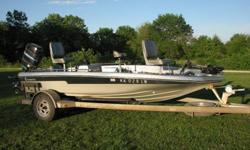 1984 Champion Bass Boat with 115hp Mercury, depth/fish finder and foot powered trolling motor. All the lights work, boat runs good, new LED trailer lights, power trim, 2 live wells. I have used this boat several times this year with no problems the only