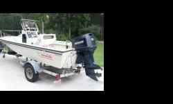 '91 Boston Whaler Outrage Middle console / Trailer 1991 boston whaler seventeen , it is in terrific condition , the hull has no damage from the sun , no spider cracks or flaws . this boat has been shed kept and still looks perfect. the motor is a good