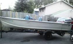 Im selling my starcract aluminum boat with motor and trailer for $ 3300 or obo please call chris or brandi at (click to respond)Listing originally posted at http